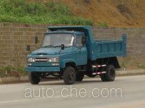 川路牌CGC4015CD型自卸低速货车