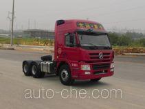 大运牌CGC4250D43BA型集装箱半挂牵引车
