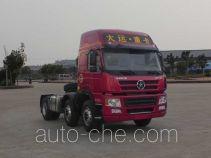大运牌CGC4250D5DBAE型牵引汽车