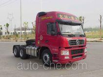 大运牌CGC4250D5ECCF型牵引汽车