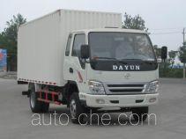 大运牌CGC5041XXYHBB33D型厢式运输车