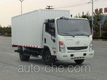 大运牌CGC2042XHDE35D型越野厢式运输车