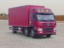 大运牌CGC5250XXYD41BA型厢式运输车