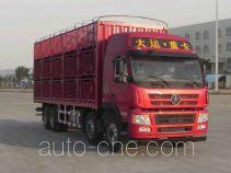 大运牌CGC5310CCQD5EDHF型畜禽运输车