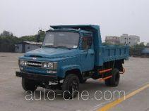 川路牌CGC5815CD6型自卸低速货车