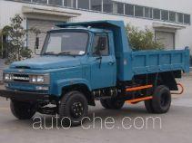 川路牌CGC5820CD4型自卸低速货车
