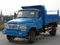 川路牌CGC5820CD8型自卸低速货车