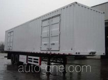 大运牌CGC9300XXY-A型厢式运输半挂车
