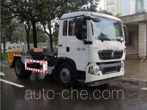 三力牌CGJ5125ZXXE5型车厢可卸式垃圾车