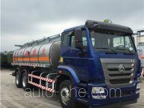Sanli CGJ5250GRY11Y flammable liquid tank truck