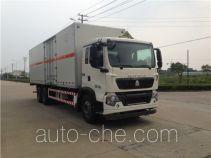 Sanli CGJ5251XZWE4 dangerous goods transport van truck