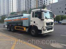 Sanli CGJ5252GZWE4 dangerous goods transport tank truck