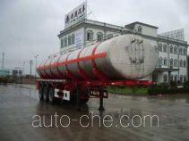 安通牌CHG9403GHY型化工液体运输半挂车
