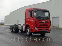 康恩迪牌CHM3250KPQ56V型自卸汽车底盘
