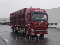 康恩迪牌CHM5310CCQKPQ77V型畜禽运输车