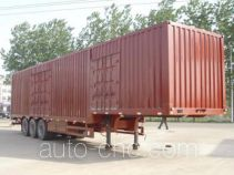 Zhaoxin CHQ9330XXY box body van trailer