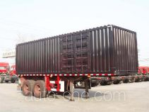 Zhaoxin CHQ9350XXY box body van trailer