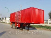 Zhaoxin CHQ9351XXY box body van trailer