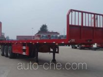 兆鑫牌CHQ9380P型平板半挂车