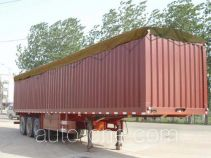 Zhaoxin soft top box van trailer