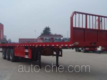 兆鑫牌CHQ9400TPB型平板运输半挂车