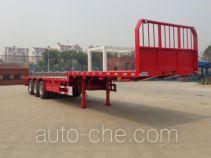 兆鑫牌CHQ9401TPB型平板运输半挂车