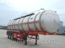 Hengxin Zhiyuan CHX9400GRY flammable liquid aluminum tank trailer