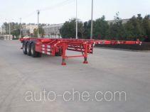 Hengxin Zhiyuan CHX9400TWY dangerous goods tank container skeletal trailer
