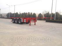 Hengxin Zhiyuan CHX9401TWY dangerous goods tank container skeletal trailer