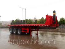 Hengxin Zhiyuan CHX9401ZZXP flatbed dump trailer