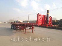 Hengxin Zhiyuan CHX9402ZZXP flatbed dump trailer