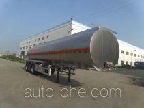 Hengxin Zhiyuan CHX9403GRY flammable liquid aluminum tank trailer