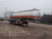 Hengxin Zhiyuan CHX9408GRY flammable liquid aluminum tank trailer