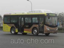 恒通客车牌CKZ6851HNHEVB5型插电式混合动力城市客车