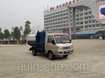 楚飞牌CLQ5031XTY5BJ型密闭式桶装垃圾车