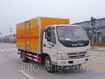 Chufei CLQ5040TQP4BJ gas cylinder transport truck