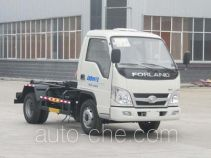 Chufei CLQ5040ZXX5BJ detachable body garbage truck