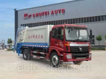 Chufei CLQ5160ZYS4BJ garbage compactor truck