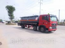 Chufei CLQ5250GFW4ZZ corrosive substance transport tank truck