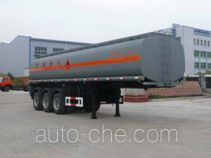 Chufei CLQ9380GHY chemical liquid tank trailer