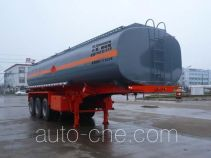 Chufei CLQ9400GFW corrosive materials transport tank trailer