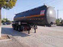 Chufei CLQ9400GFWB corrosive materials transport tank trailer