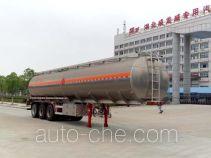 Chufei CLQ9400GYYBA aluminium oil tank trailer