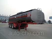 Chufei CLQ9401GFW corrosive materials transport tank trailer