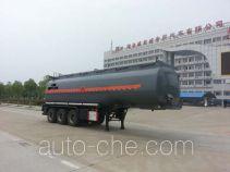 楚飞牌CLQ9401GRYB型易燃液体罐式运输半挂车