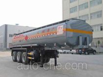 Chufei CLQ9401GRYC flammable liquid tank trailer