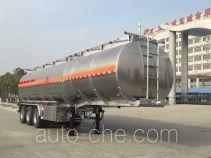 Chufei CLQ9402GYYBA aluminium oil tank trailer