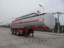 Chufei CLQ9403GRY flammable liquid tank trailer