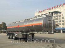 Chufei CLQ9403GYYBA aluminium oil tank trailer