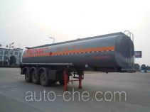 Chufei CLQ9404GRY flammable liquid tank trailer